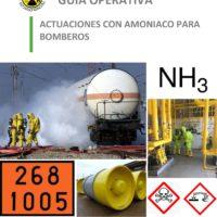Guía operativa: Actuaciones con amoníaco para bomberos