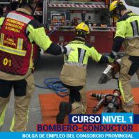 Curso Nivel 1 Bombero-Conductor. Bolsa de empleo del Consorcio Provincial Contra Incendios e Salvamento da Coruña. 2020