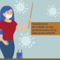 Condiciones de trabajo en los profesionales de la educación infantil